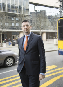 Srdan Majstorovic, Serbiens EU-förhandlare. Foto: Denny Lorentzen.
