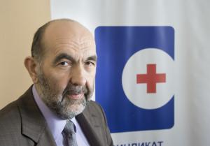 Zoran Savic, ordförande för Serbiens största vårdförbund. Foto: Denny Lorentzen.