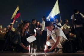 Facken stödde fredsavtalet men kritiserar pristagaren Santos politik