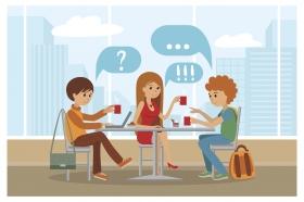 Jag skulle vilja vara en sån som älskar att gå på språkcafé