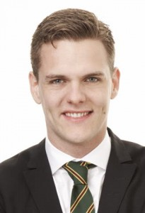 Christofer Fjellner (M) Foto: Peter Knutson