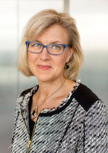 Karin Leth, förvaltningsdirektör på Arbetsförmedlingen. Foto: Ulf Berglund.
