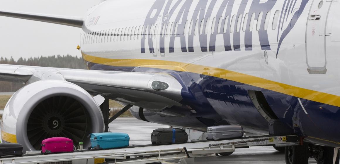 Stora protester när Ryanair börjar flyga från Danmark