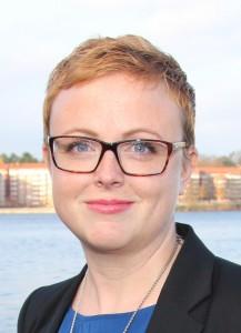 Maria Rönn, Lärarförbundets vice ordförande.