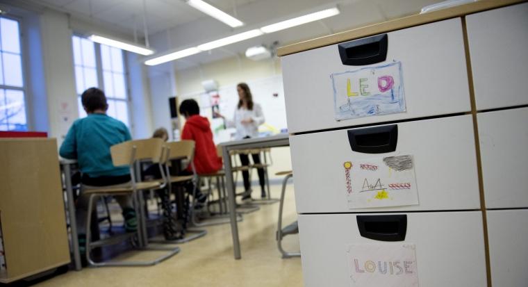 Statsbidrag ska ge fler lågstadielärare