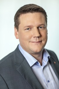 Tobias Baudin, LO:s vice ordförande.