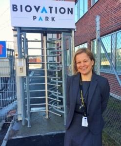 Janet Hoogstraate ansvarar för den nya life scienceparken i Södertälje. Foto: Ewa Persson.