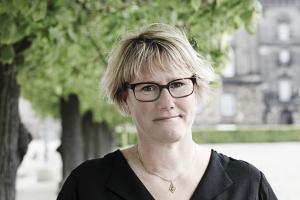 Danska FTF:s ordförande Bente Sorgenfrey. Foto: Sif Meincke.