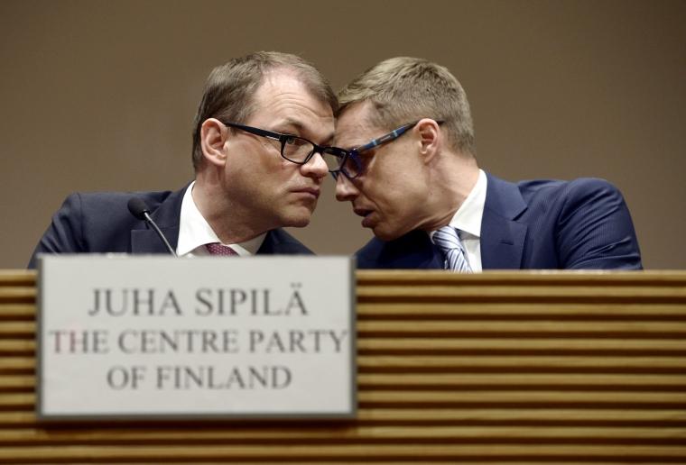 Finska regeringen hoppas att partssamarbete kan mildra sparpaket