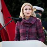 Danska statsministern Helle Thorning-Schmidt Foto: Philip Davali/Polfoto via AP/TT.