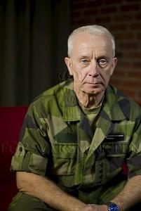 ÖB Sverker Göranson har fått frågan. Foto: Niklas Ehlén/Combat Camera.