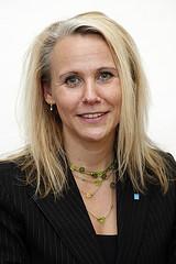Annika Aronsson, avdelningsordförande.