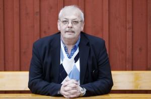 Försvarsförbundets ordförande Håkan Sparr. Foto: Sören Andersson.