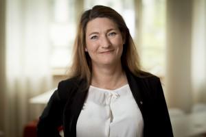Susanna Gideonsson, Handels ordförande.