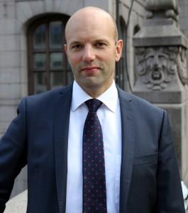Mattias Dahl, förhandlingschef på Svensk Handel.