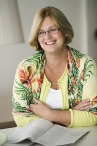 Eva Adolphson, pensionsekonom. på Alecta. Foto: Elena Kraskowski.