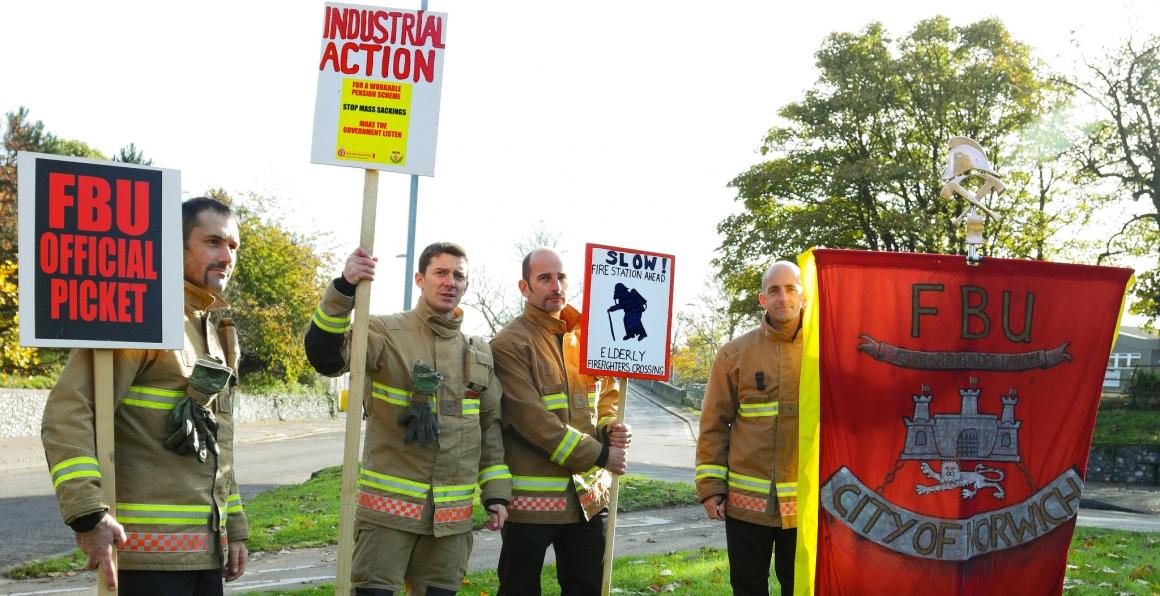 Storbritannien vill tillåta strejkbryteri