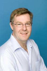 Johan Larsson, vice ordförande för Vårdförbundet. Foto: Ulf Huett.