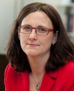 EU-kommissionär Cecilia Malmström. Foto: EU-kommissionen