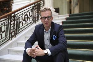 Andreas Carlson, ekonomisk-politisk talesperson för Kristdemokraterna.
