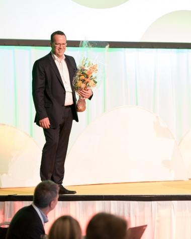 Martin Linder är Unionens nya ordförande