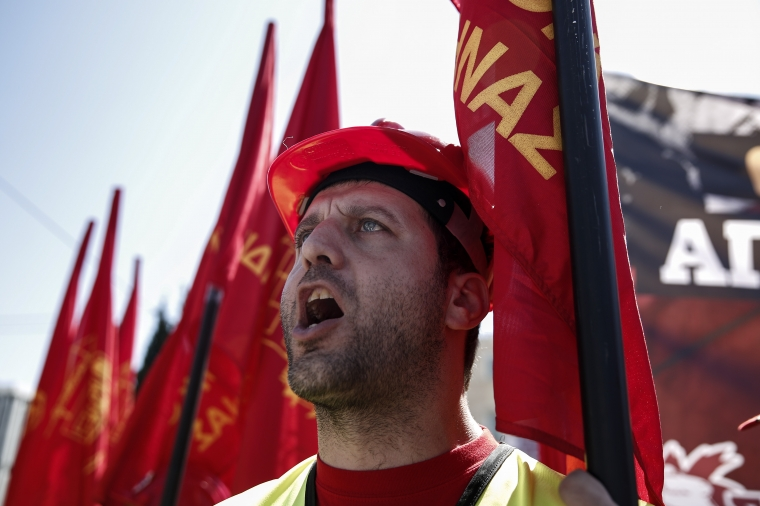 Krisen har försvagat Europas kollektivavtal