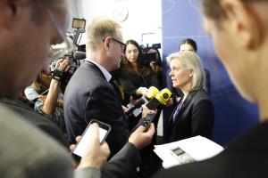 Finansminister Magdalena Andersson. Foto: Christine Olsson/TT.