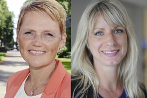 Anna-Karin Hatt och Linnea Kvist, Almega.