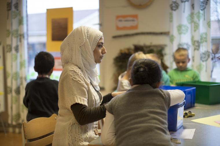 Utbildning på arabiska i lärarnas nya snabbspår