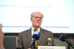 Riksbankschef Stefan Ingves. Foto: Thommy Tengborg/TT.