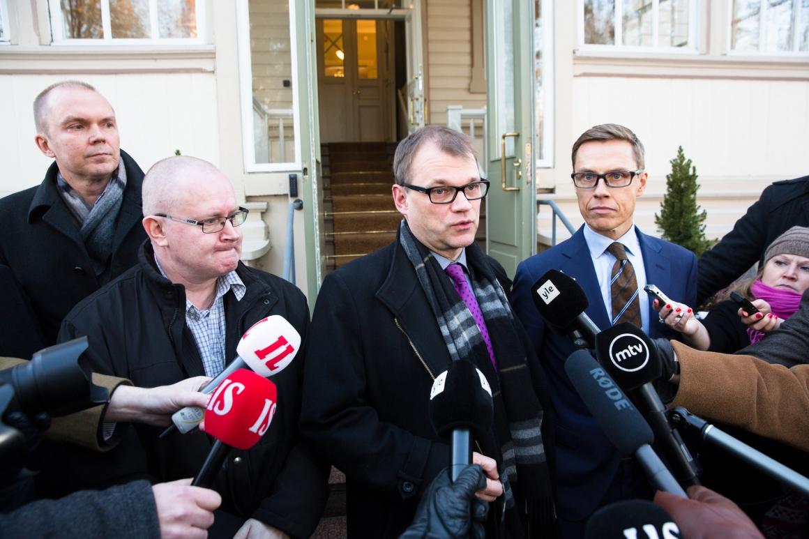 Minskat anställningsskydd öppnar för misstroende mot finska regeringen
