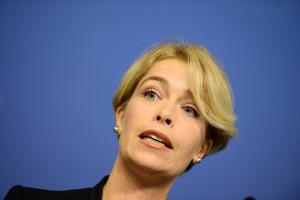 Socialförsäkringsminister Annika Strandhäll. Foto: Maja Suslin/TT.