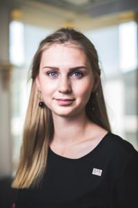 SFS vice ordförande Charlotta Tjärdahl.