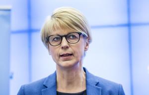 Elisabeth Svantesson, Moderaternas arbetsmarknadspolitska talesperson. Foto: Lars Pehrson / SvD / TT