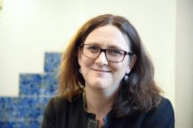 Trots TTIP ser Cecilia Malmström ljust på EU:s handelsavtal