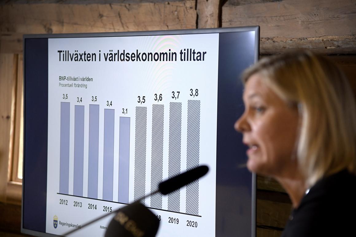 Regeringen: 40 miljarder reformutrymme till 2018