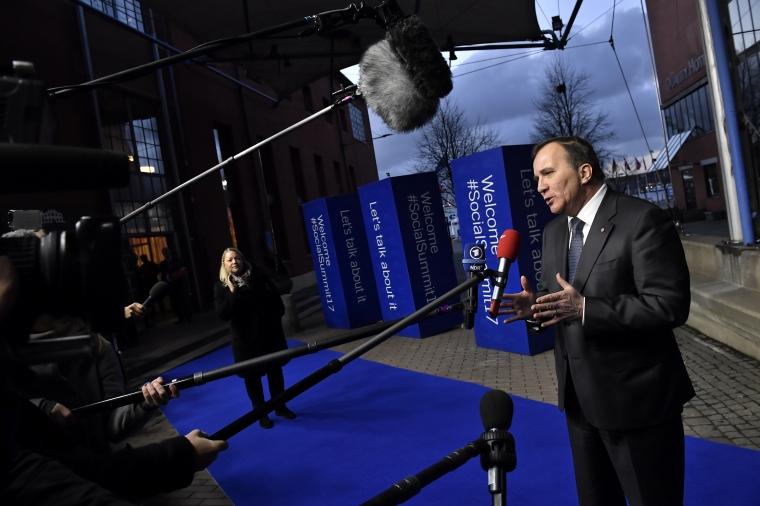 Stefan Löfven bakom rekordstort lajv i Göteborg