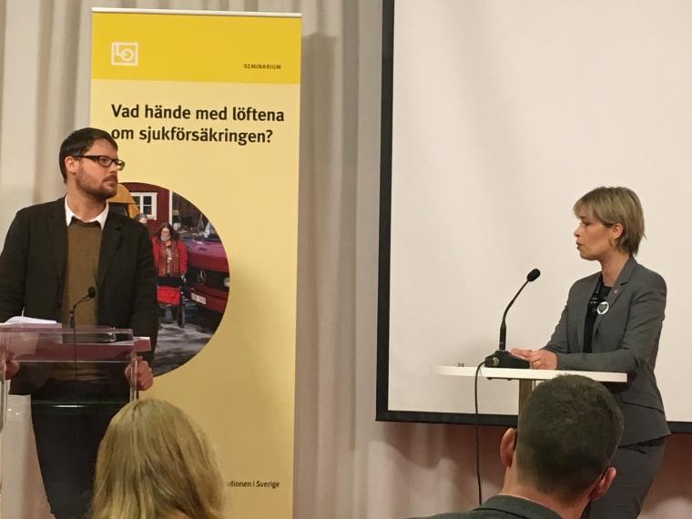 Annika Strandhäll (S) lovar bättring – efter julledigheten