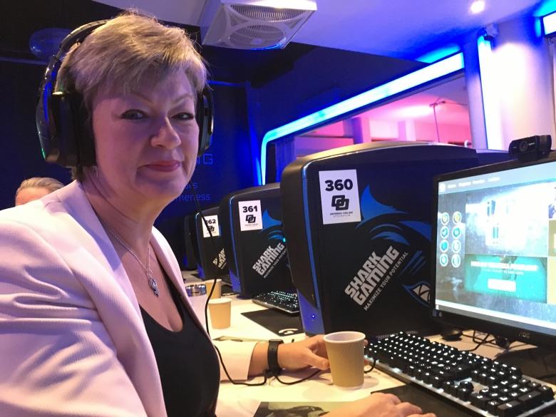 Ylva Johansson vill ta vara på gaming