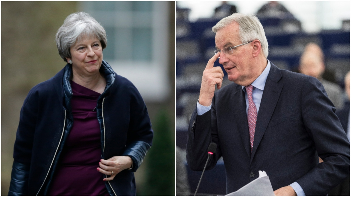 """Theresa May tror att EU bluffar om finanssektorn"""
