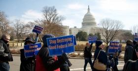"""Så lever statsanställda under hotet om """"shutdowns"""""""