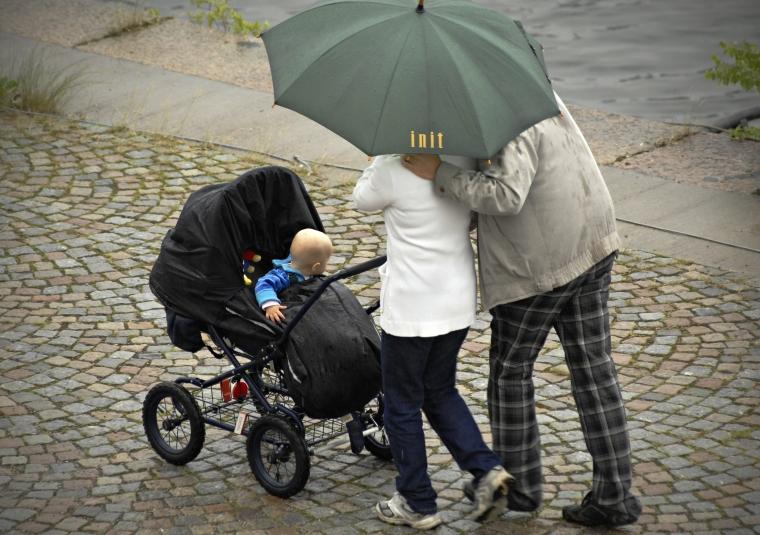 Dubbeldagarna lockar fler pappor till föräldraledighet
