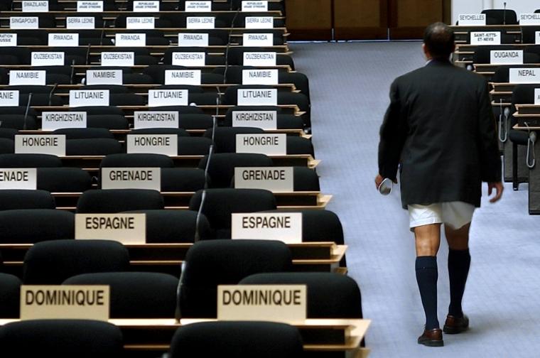 ILO-konvention i stöpet när delegation lämnar i protest