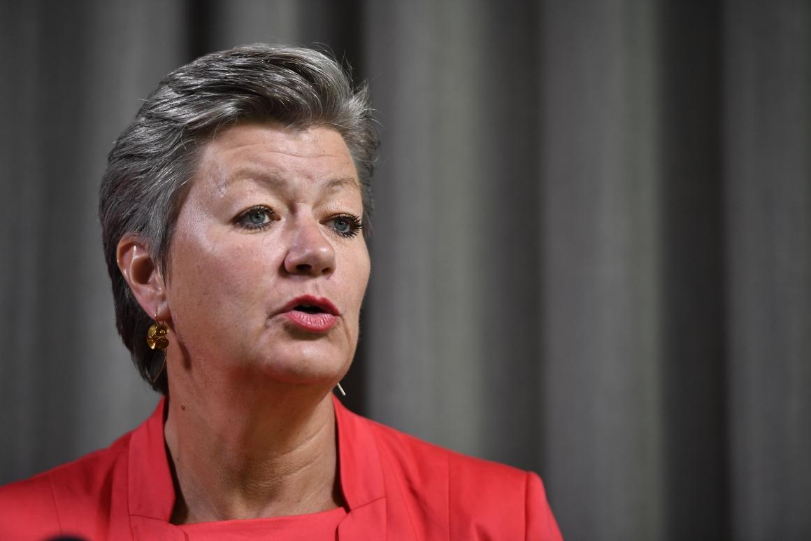 Ylva Johansson tvingas rösta nej till ny arbetsmyndighet