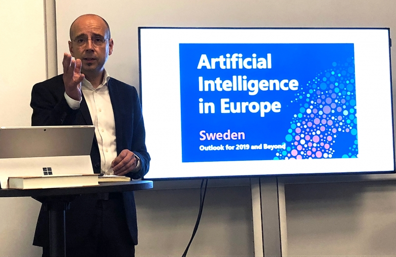 Storbritannien leder överlägset Europas AI-investeringar