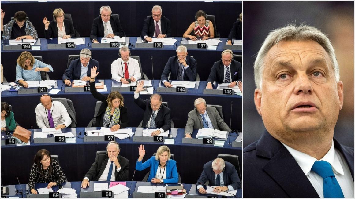Stor majoritet för att inleda process mot Ungern