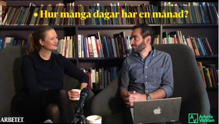 Videopodd: Mens på jobbet