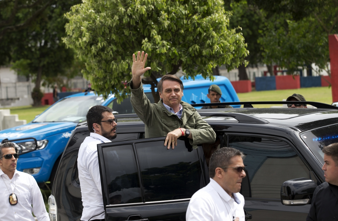 """""""Vi vet vart Bolsonaro kommer ta Brasilien"""""""