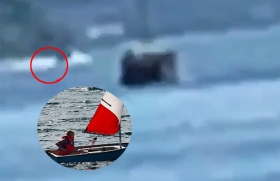 Optimistjollar deltog i ubåtsjakt