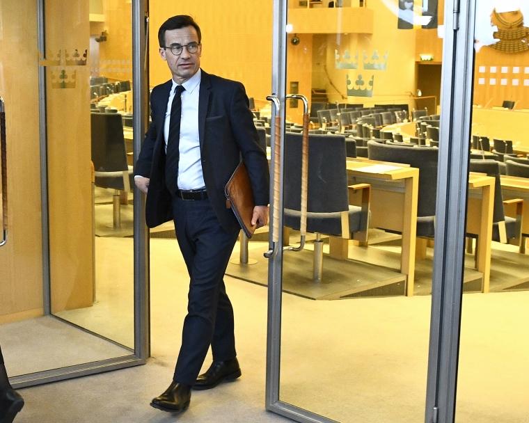 Missnöje med Kristersson: Toppmoderater efterlyser mer robotlik partiledare